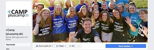 Pluscamp på Facebook